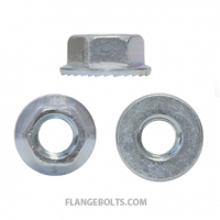 HEX SERRATED FLANGE NUTS JIS CLASS 10